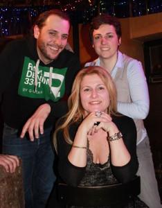 Das WarmUP Team Susi, Irene und Gernot