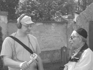 Marko Feingold im Gespräch