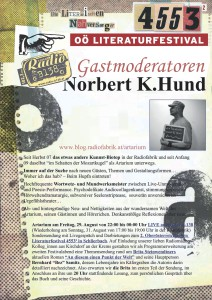 Gastmoderator Norbert K Hund