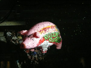 Roger Waters Live Schwein