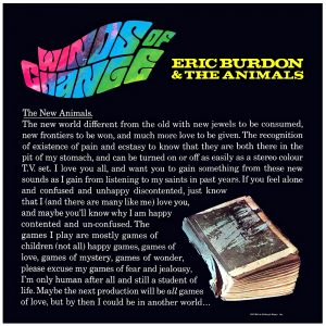 Eric Burdon - Winds Of Change