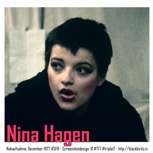 Nina Hagen frisch in West-Berlin