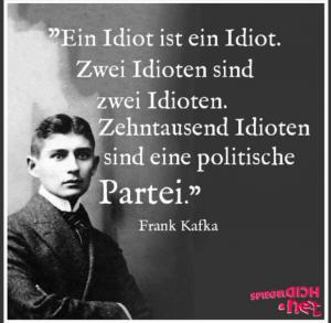 Idioten und Volkstrottel
