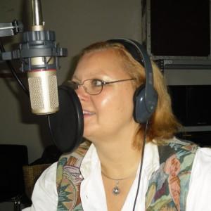 Karin im Studio