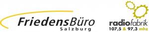 Logo Friedensbuero und Radiofabrik