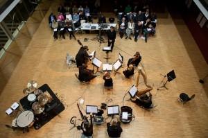 """Das Ensemble """"die reihe"""" in Mittersill"""
