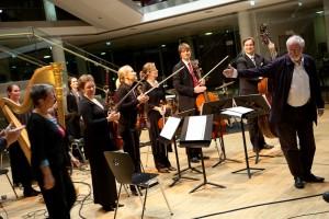 Das Ensemble die reihe, Gunda König und Dieter Kaufmann