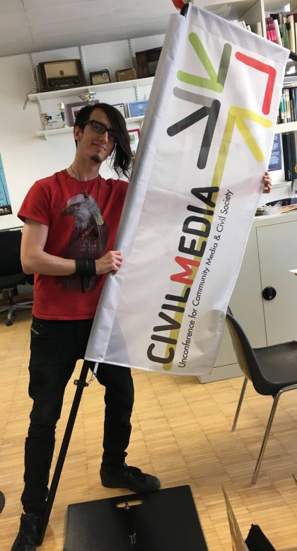 Civilmedia Flagge