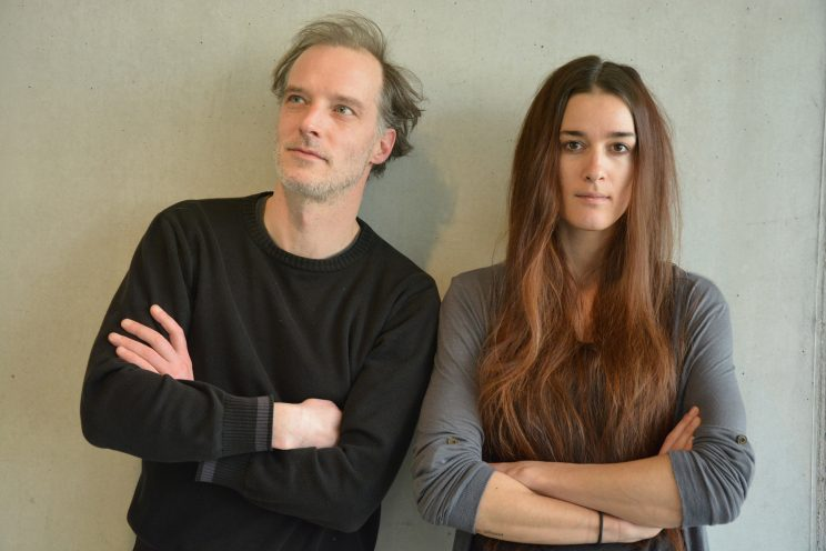 Musikredaktion (Niko und Romana) Orginalfoto