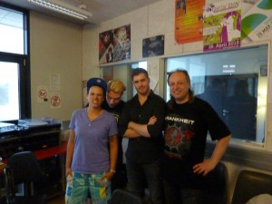Krankheit zu Gast im Studio