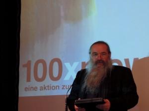 Bernhard Jenny präsentiert 100x Nie wieder für Marko Feingold
