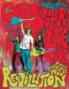 summer of love tourplakat
