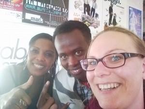 Stadtteilradio Itzling: Fatma, Abdisalan und Martha
