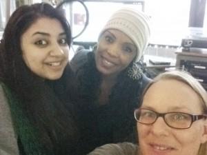 Nimra, Fatma und Martha