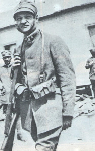 Giuseppe Ungaretti during the war