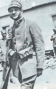 Giuseppe Ungaretti during the war