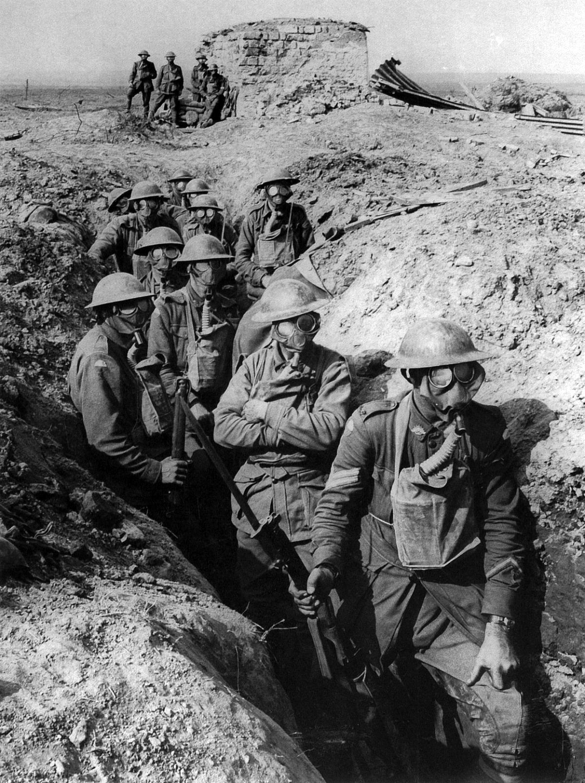 Australian_infantry_small_box_respirators_Ypres_1917