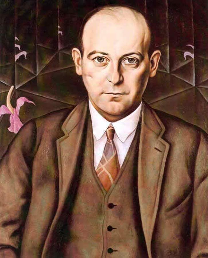 Ludwig Bäumer painted by Christian Schad, 1927 (Photobucket)