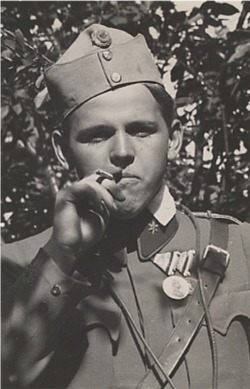 Fritz Weber during the war (Wikipedia)