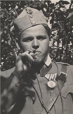 Fritz Weber during the war (Wikipedia)