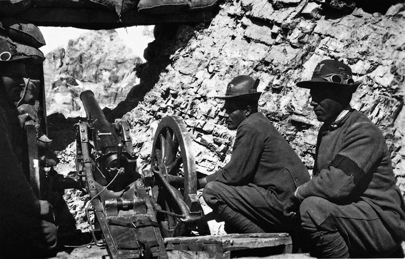 Italian Alpini during WWI (www.nondimenticare.com)