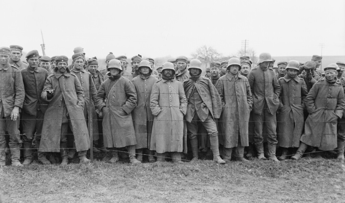 German prisoners on the Western front, 31 March 1918