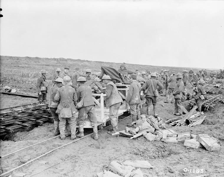 tedeschi prigionieri vimy ridge 1917
