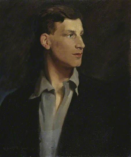 Portrait of the poet Siegfried Sassoon by Glyn Warren Philpot, 1917 (Wikipedia)