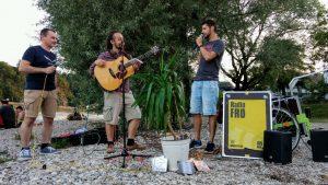 Linz: Beda mit Palme